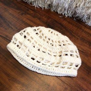 BoHo Hippy Crochet Knitted Tam BEANIE Cap Hat